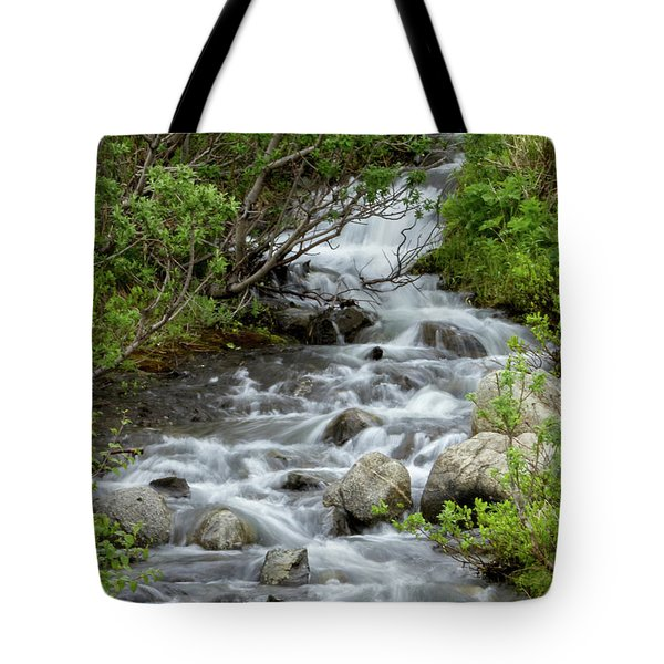 Waterfall Picture - Alaska Tote Bag