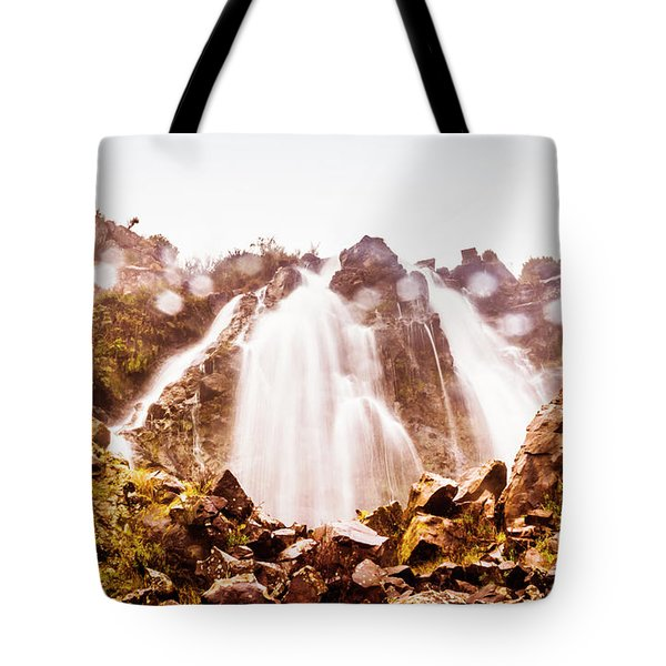 Waterfall Scenics  Tote Bag