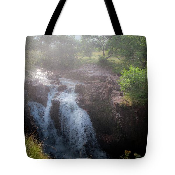Waterfall Tote Bag by Sergey Simanovsky
