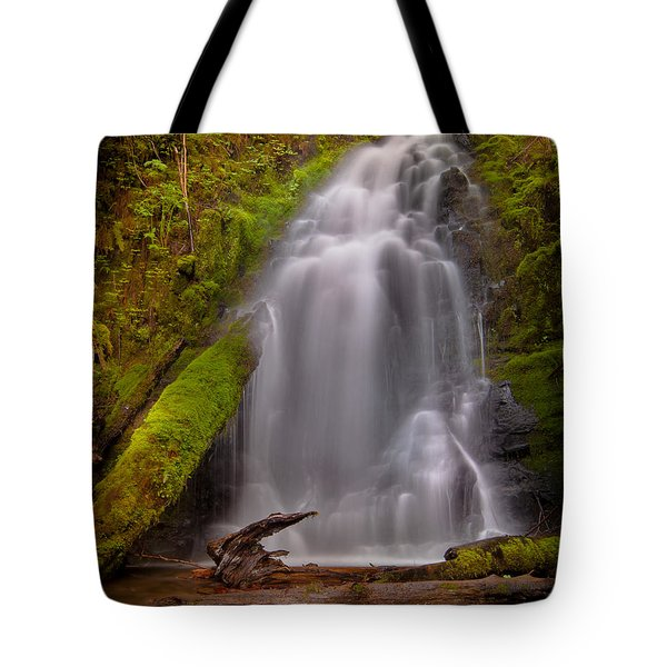 Waterfall Showers Tote Bag