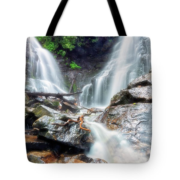 Waterfall Silence Tote Bag