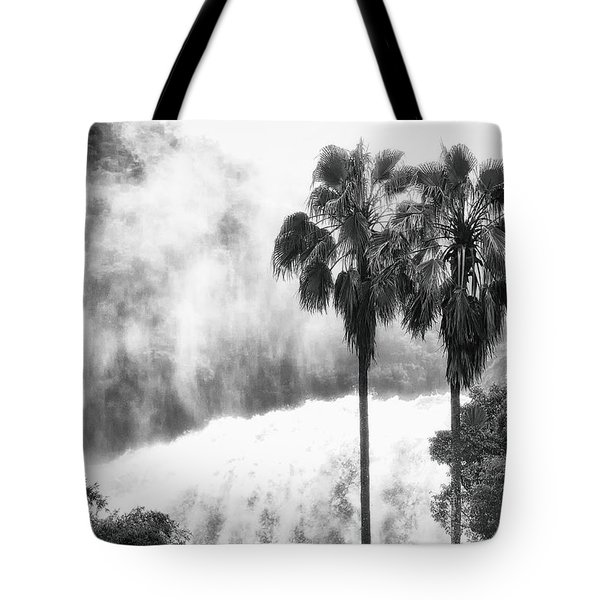 Waterfall Sounds Tote Bag by Hayato Matsumoto