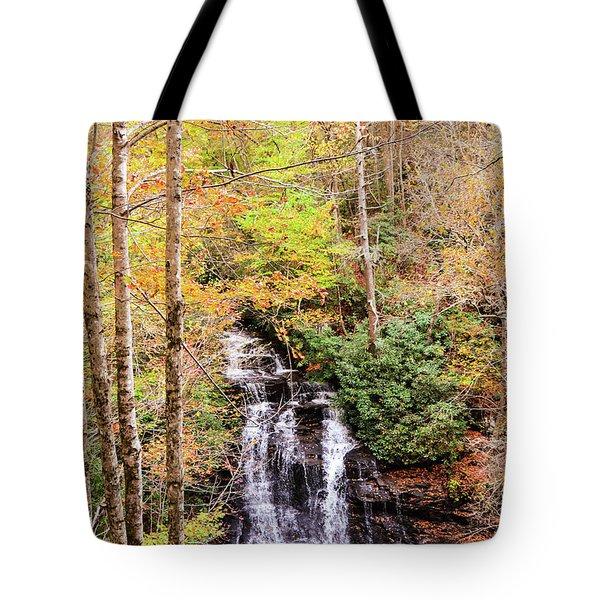 Waterfall Waters Tote Bag