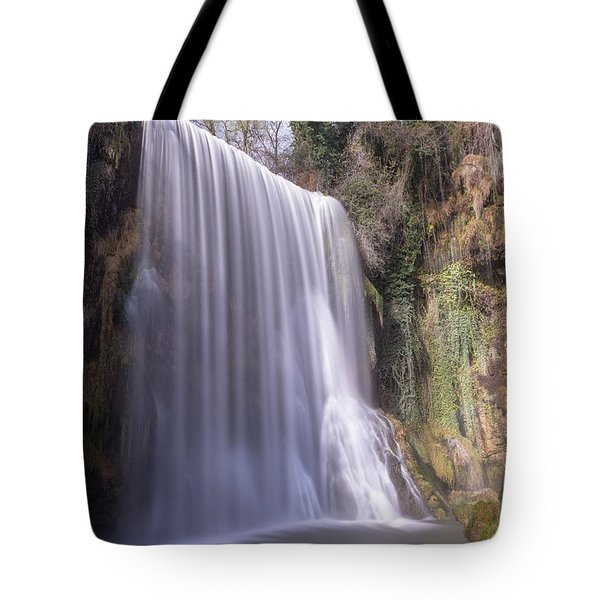 Waterfall With The Silk Effect Tote Bag