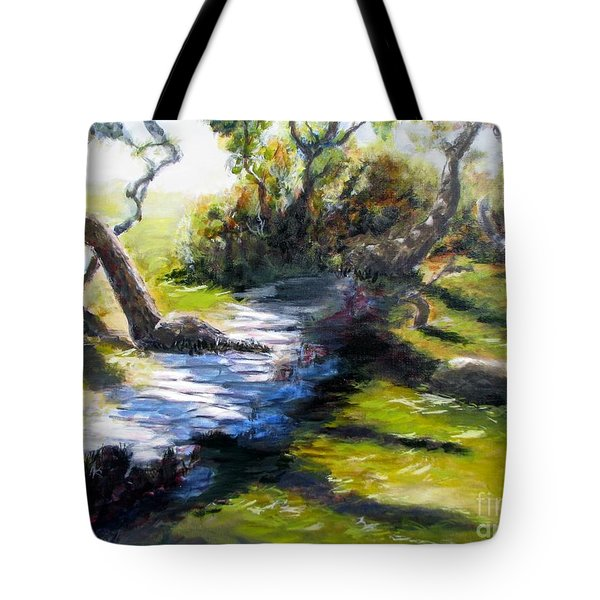 Waterfront And T St In Eureka  Tote Bag