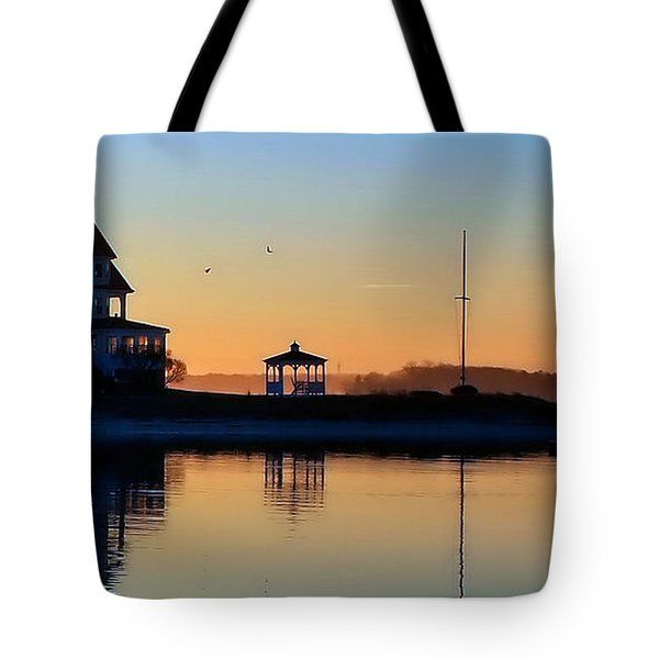 Waterfront Living Tote Bag