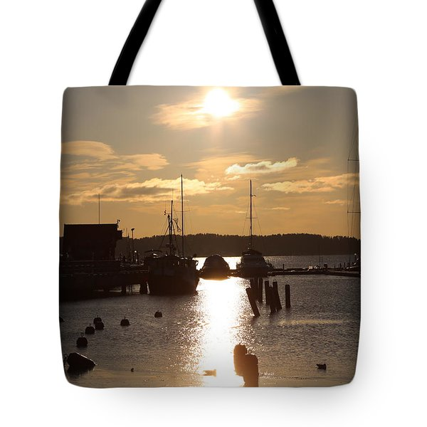Waterfront, Oslo Fjords, Norway.  Tote Bag