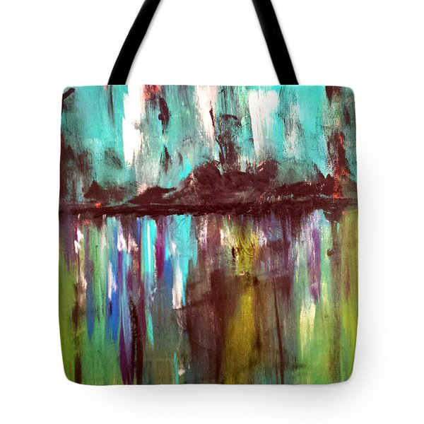 Waterfront Reflections Tote Bag