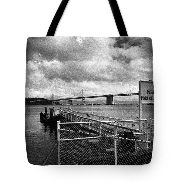 Waterfront San Francisco Tote Bag