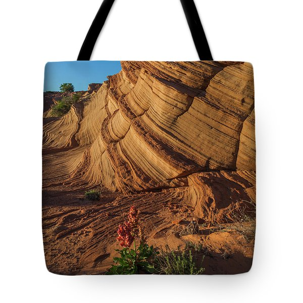 Waterhole Canyon Evening Solitude Tote Bag
