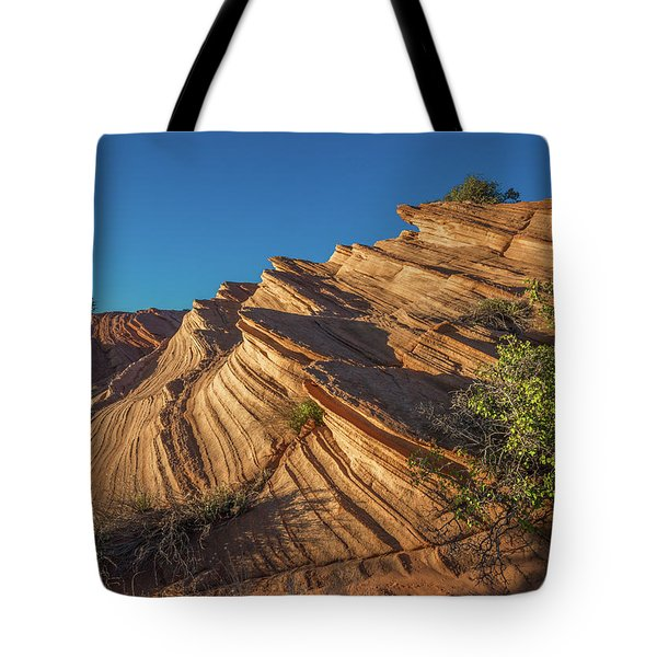 Waterhole Canyon Rock Formation Tote Bag