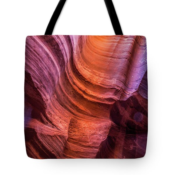 Waterholes Canyon Ribbon Candy Tote Bag