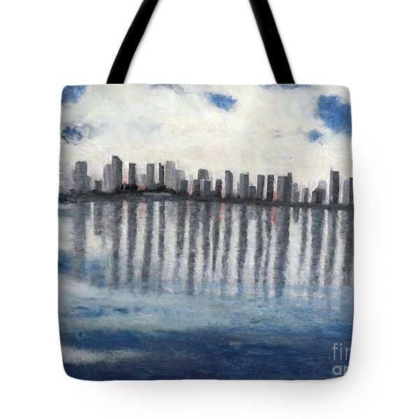 Water,ice,snow And More Tote Bag