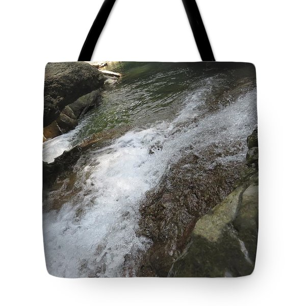Tote Bag featuring the photograph Watering Hole by Aaron Martens