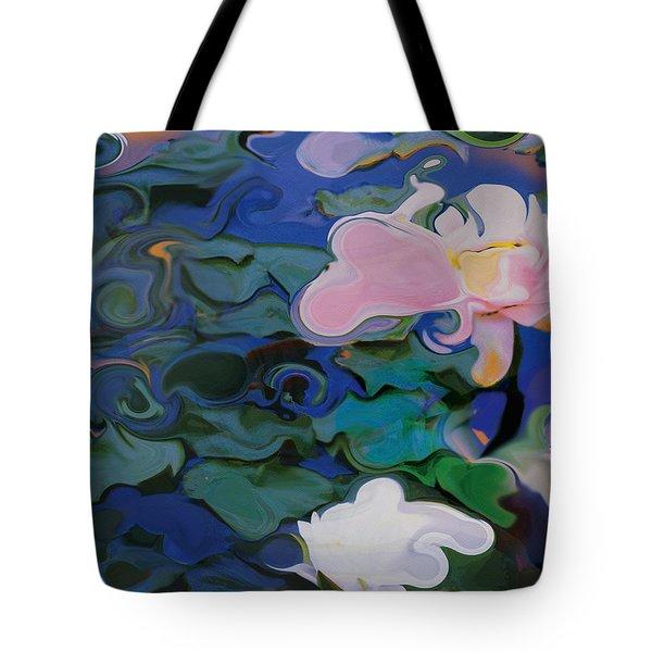 Waterlilies Six Tote Bag