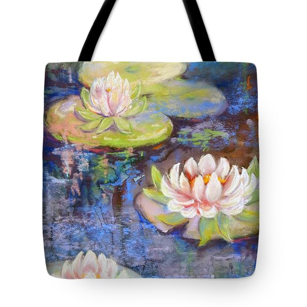 Waterlillies Tote Bag