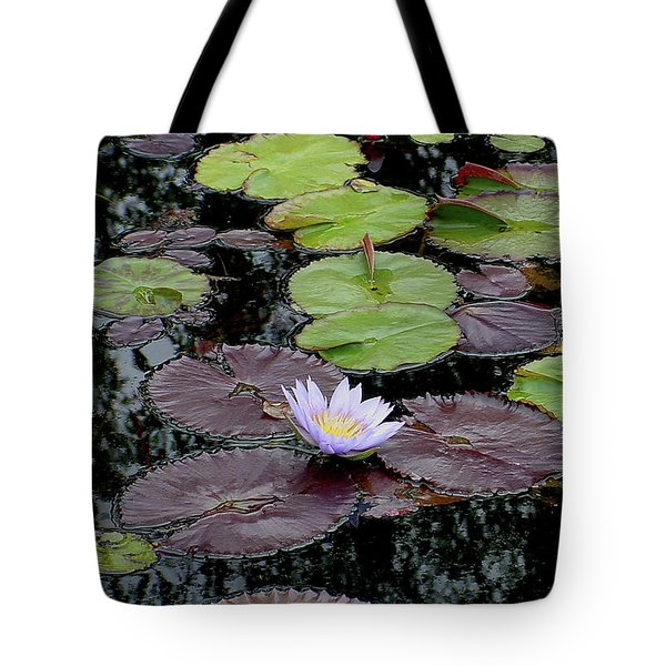 Waterlily - 001 Tote Bag by Shirley Heyn