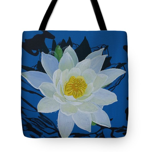 Waterlily Tote Bag