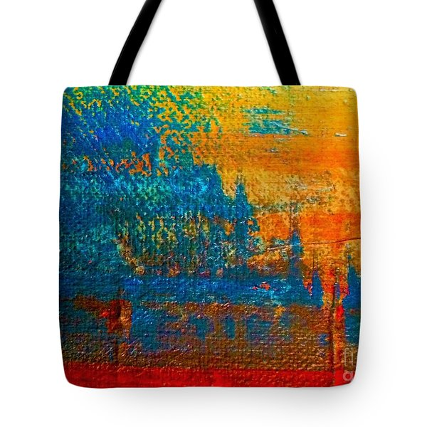 Waterloo Sunset Tote Bag