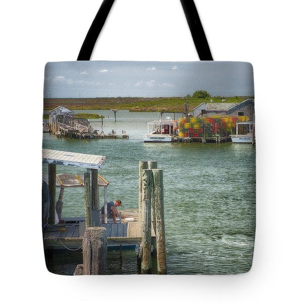 Watermen Of Tangiers Tote Bag