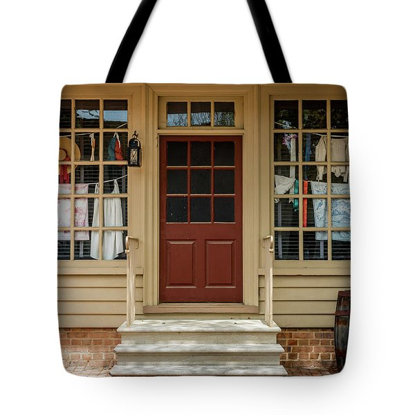 Waters Storehouse Colonial Williamsburg Tote Bag