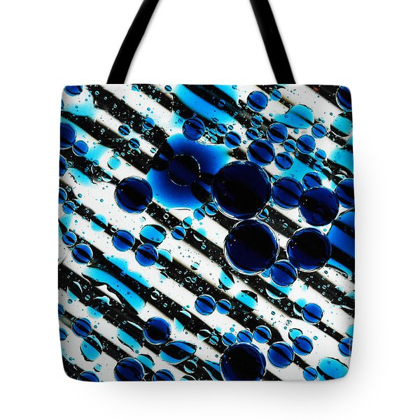 Waterscape Crystal Blue Tote Bag