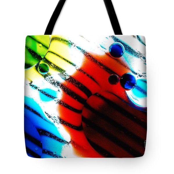 Waterscape Crystal Primary Tote Bag