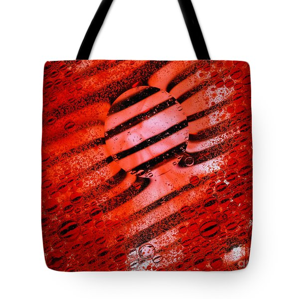 Waterscape Crystal Red  Tote Bag