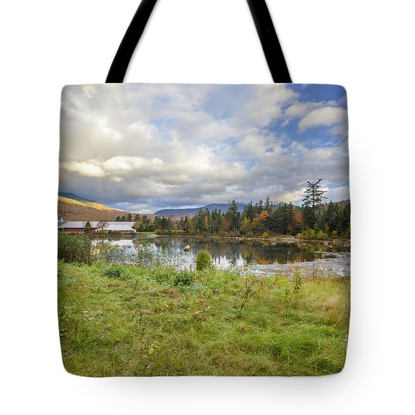 Waterville Valley New Hampshire Tote Bag