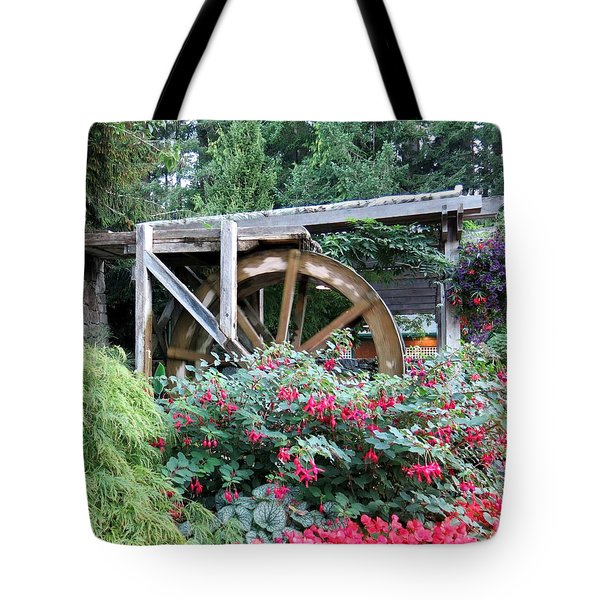 Waterwheel Tote Bag