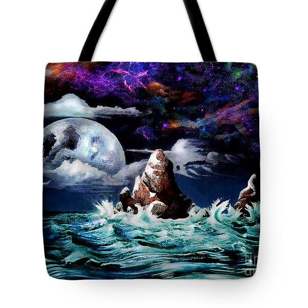 Waterworld  Tote Bag