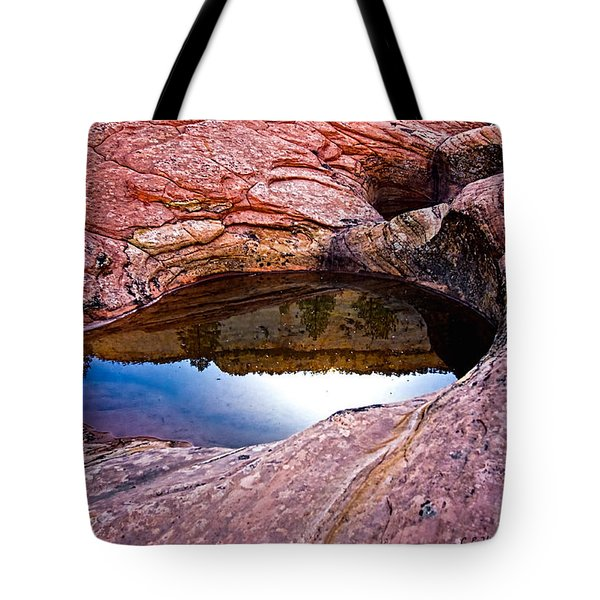 Watery Portal Tote Bag by Christopher Holmes