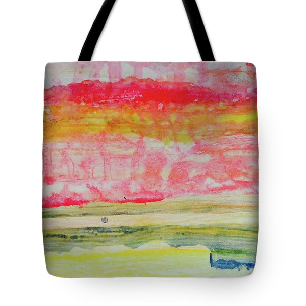 Watery Seascape Tote Bag