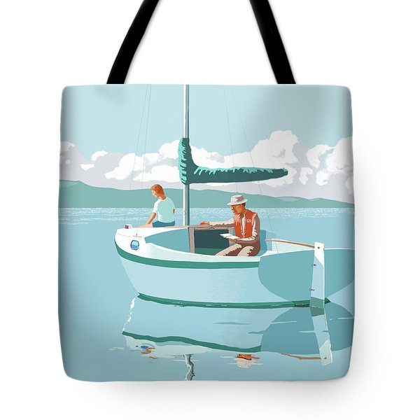 Wating For The Wind Tote Bag