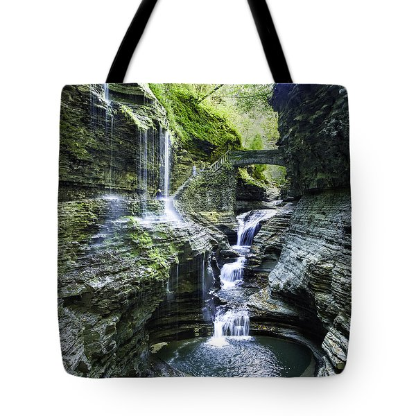 Watkins Glen 2015 02 Panorama Tote Bag