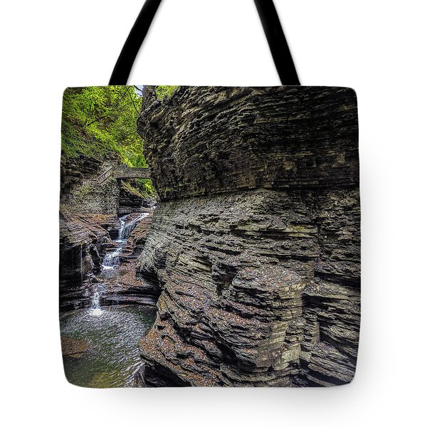 Tote Bag featuring the photograph Watkins Glenn 1 by Paul Wear