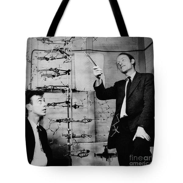 Watson And Crick Tote Bag