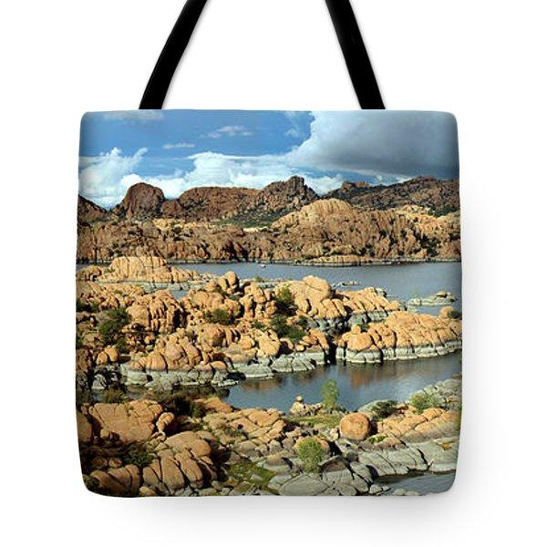 Watson Lake Arizona Tote Bag