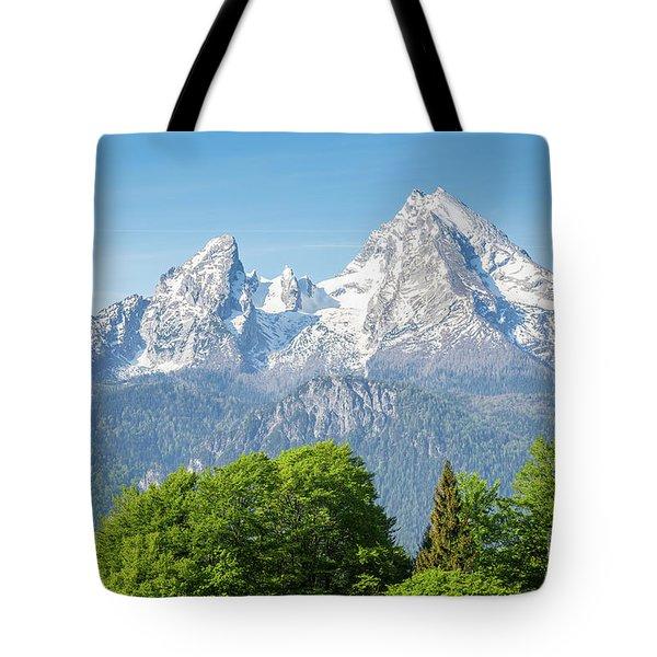 Watzmann Tote Bag by JR Photography