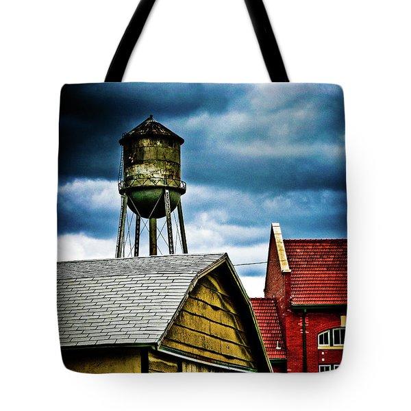 Waurika Old Buildings Tote Bag