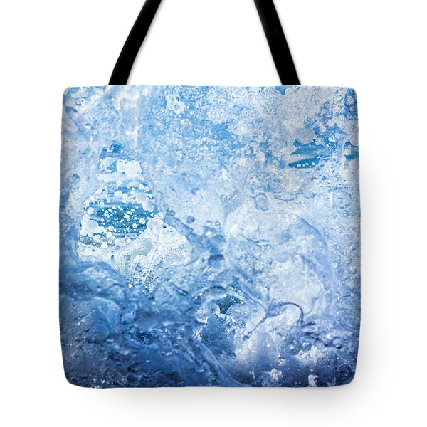 Wave With Hole Tote Bag