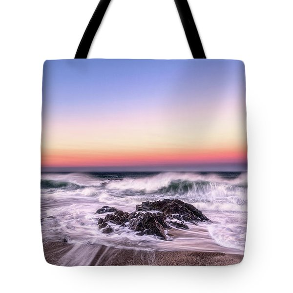 Wave Action Tote Bag