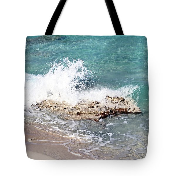 Gentle Wave In Bimini Tote Bag