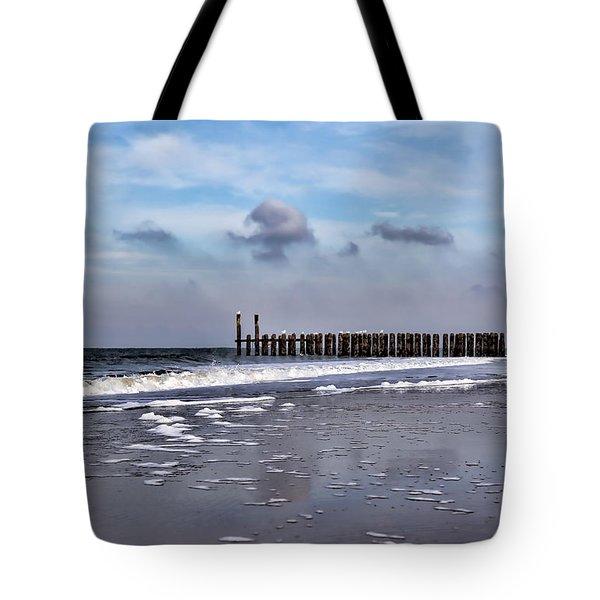 Wave Breakers Tote Bag