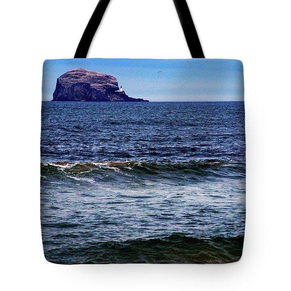 Wave Bye-bye Tote Bag by Nik Watt