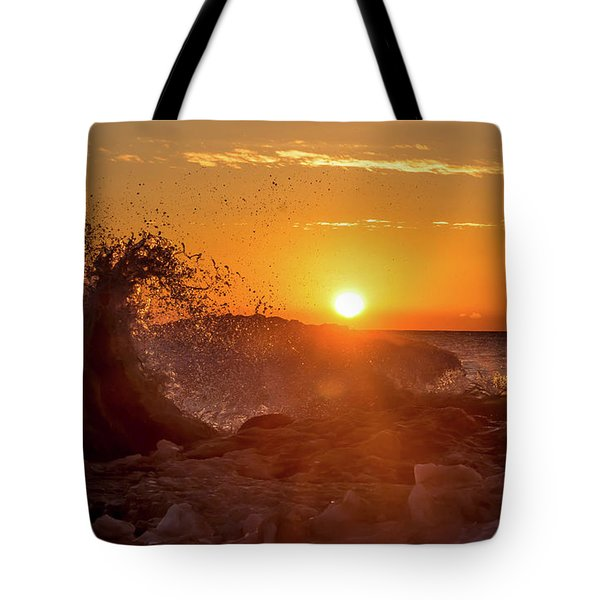 Wave Catcher Tote Bag