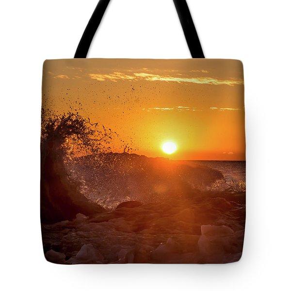 Wave Catcher Tote Bag