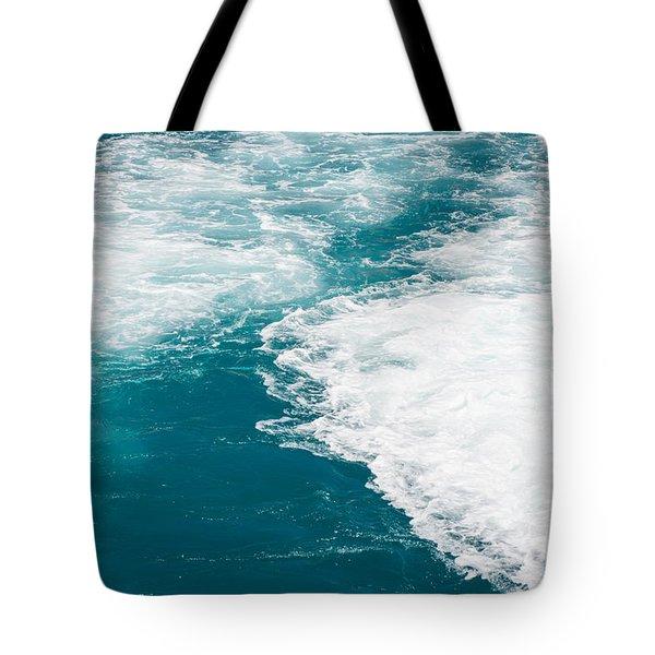 Wave Design Tote Bag