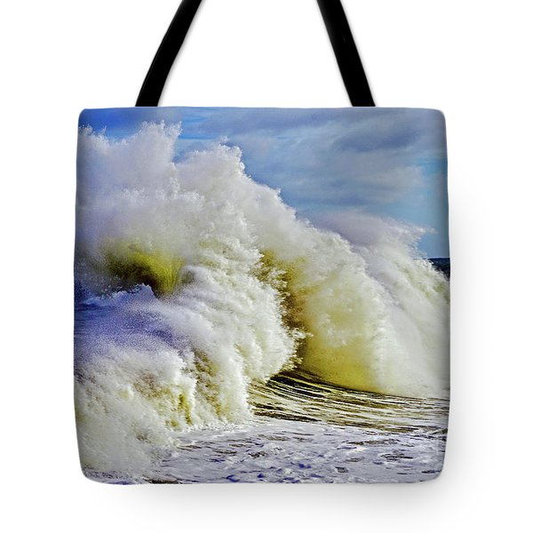 Moody Surf Tote Bag