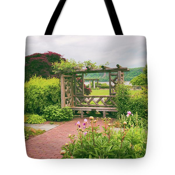 Wave Hill Respite Tote Bag by Jessica Jenney